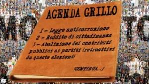Agenda Grillo MoVimento 5 Stelle Scordia