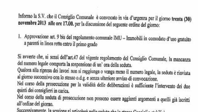 Giambattista scordia 5 stelle page 5 for Comodato gratuito imu