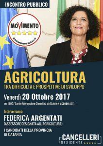 Federica Argentati Venerdì 20 Ottobre 2017 ore 18:00 Centro di Aggregazione Giovanile.